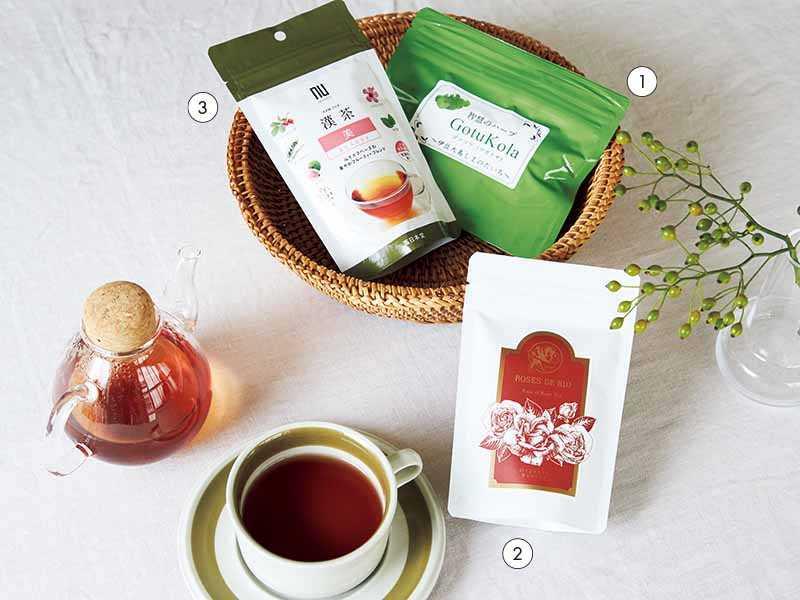 [美容プロのインナーケア愛用品]体の潤いとハリはこだわりのお茶と水から!